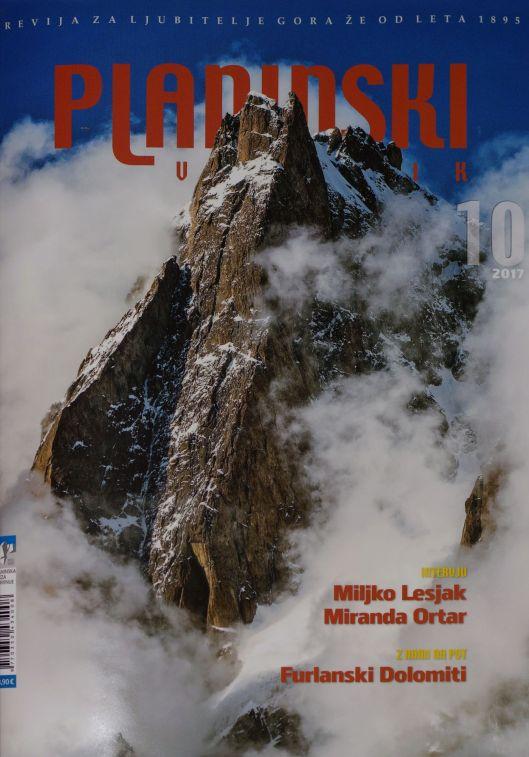 Planinski vestnik - naslovnica origR